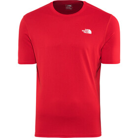 The North Face Flex II Camisa Manga Corta Hombre, tnf red